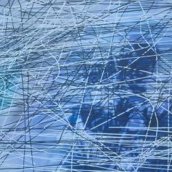 漂浮Floating, 190jpg30cm,布面油画,2008-
