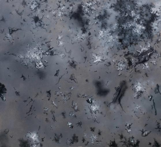 蔡锦, 风景33, 布面油画, 120x110cm, 2012_1