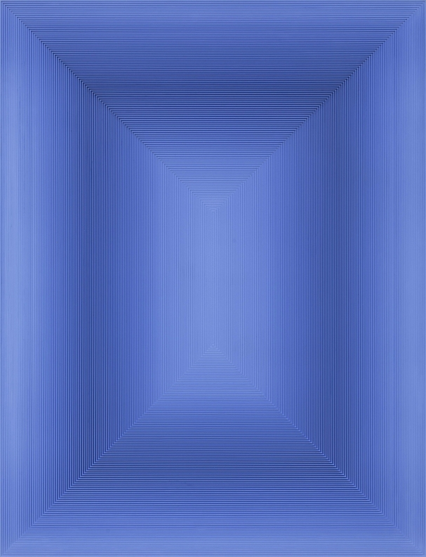 戈子馀, 波系列-23,  综合材料, 100×130cm, 2016