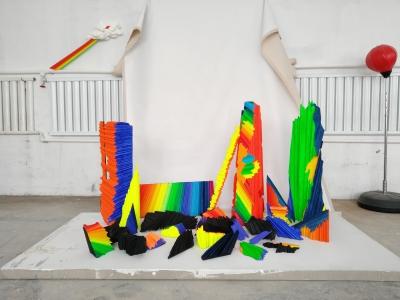 欧阳苏龙, 多余的光, EPS, 丙烯, 2017