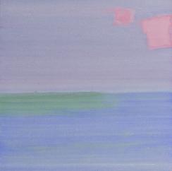 白京生,作品之十八,布面丙烯,60x60cm,2018